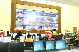 Bomberos, Tránsito, Salud y Policía son las instituciones que trabajan articuladas al ECU911. Foto:  Alex Godoy R / ImbaburaHoy