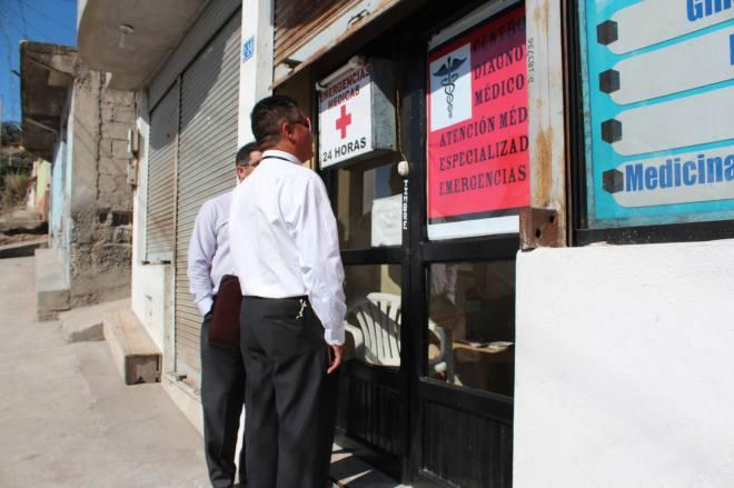 Ibarra.- Los operativos se extenderán durante todo el año y están a cargo de la Comisaría de Salud. | Foto: Cortesía Comunicación Salud Zona 1