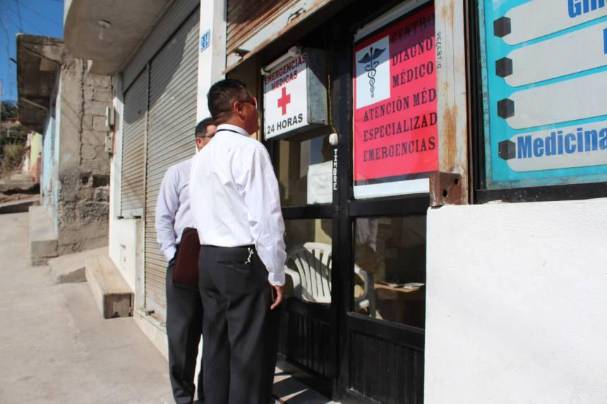 Ibarra.- Los operativos se extenderán durante todo el año y están a cargo de la Comisaría de Salud.   Foto: Cortesía Comunicación Salud Zona 1