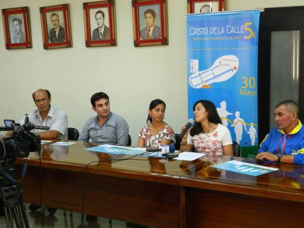 Ibarra.- En rueda de prensa se brindaron los detalles de la competencia. |Foto: Cortesía