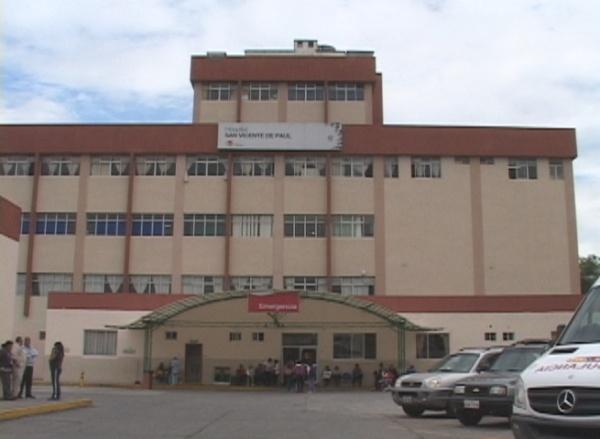 Ibarra.- El Hospital San Vicente de Paúl es uno de los 7 hospitales del Ministerio de Salud Pública del Ecuador que fueron acreditados.  Foto: Cortesía