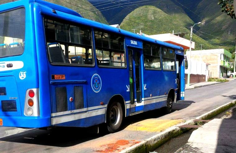 Ibarra.- En la ciudad existen 2 cooperativas que brindan el servicio de bus, la Coop. 28 de Septiembre y la Coop. San Miguel de Ibarra. |Foto: Alex Godoy/ ImbaburaHoy