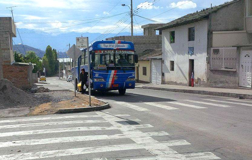 Ibarra.- Luego de 12 años, la tarifa de buses subió en Ibarra. |Foto: Archivo