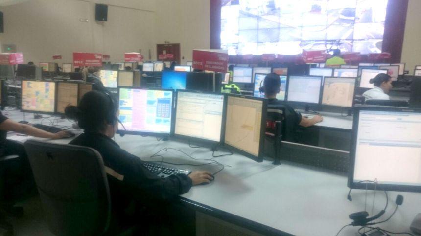 Ibarra.- El ECU911 Ibarra, está pendiente de la seguridad las 24 horas los 7 días a la semana.  Foto: Ecu911Ibarra