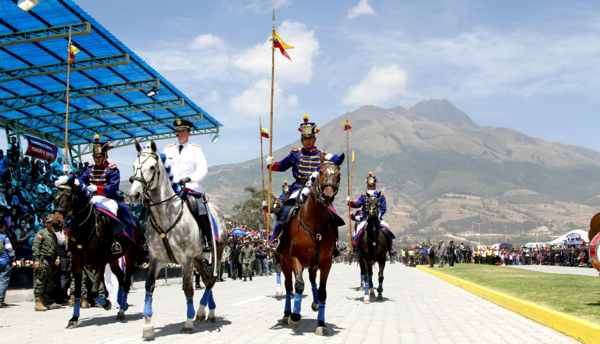 Ibarra.- La Asamblea Nacional aprobó por unanimidad la declaratoria de día de conmemoración nacional al 17 de Julio.  Foto: Archivo Alex Godoy R.