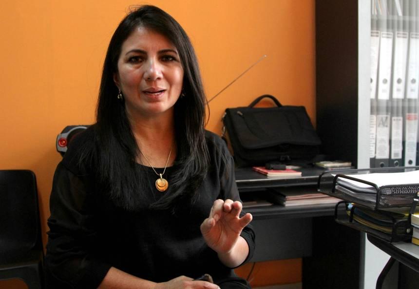 Ibarra.- Hilda Herrera busca un acercamiento con la Mancomunidad de Tránsito para que la tarifa sea analizada. |Foto: Alex Godoy R/ImbaburaHoy