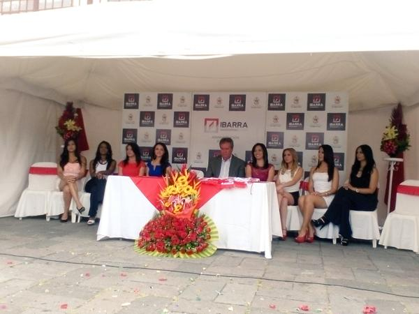 Ibarra.- El evento se realizó en la Plazoleta Francisco Calderón. |Foto: Cortesía