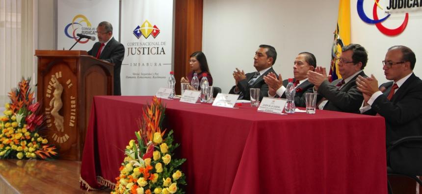 Ibarra.- La Corte Provincial de Justicia de Imbabura fue creada en septiembre de 1921, siendo Presidente de la República el Dr. José Luis Tamayo. |Foto: Cortesía
