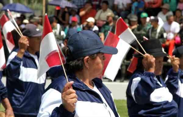 Ibarra.- En la agenda de eventos, para celebrar a Ibarra, se tiene previsto, el desfile cívico y la sesión solemne. |Foto: Archivo/AlexGodoy