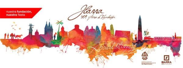 Ibarra.- Captura de pantalla del afiche oficial de fiestas de Ibarra.