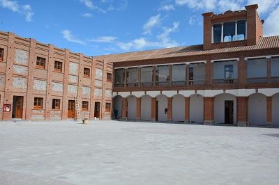 Ibarra.- Esta obra forma parte del proyecto de recuperación de la manzana patrimonial en Ibarra.  Foto: Cortesía