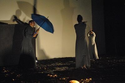 Ibarra.- La puesta en escena se la realizó en el teatro Gran Colombia de Ibarra. |Foto: Cortesía GAD Ibarra