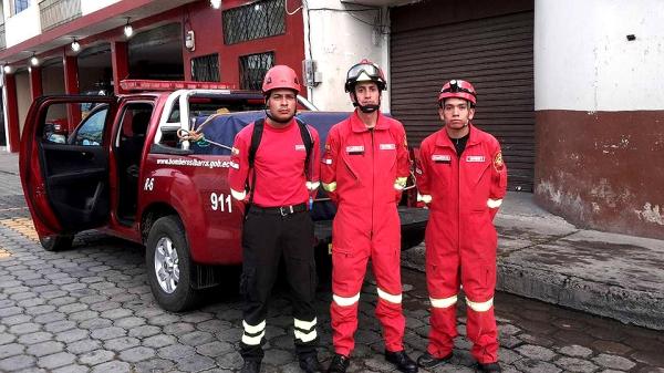 bomberos pedernales